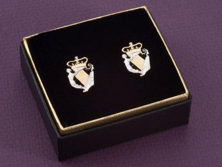 Irish Harp Cuff Links, Irish Coin Jewelry, Ireland Gift Ideas, Ireland Coin Jewelry, Mens Gifts, Cuff Links, Mens Accessories, ( # 163C )