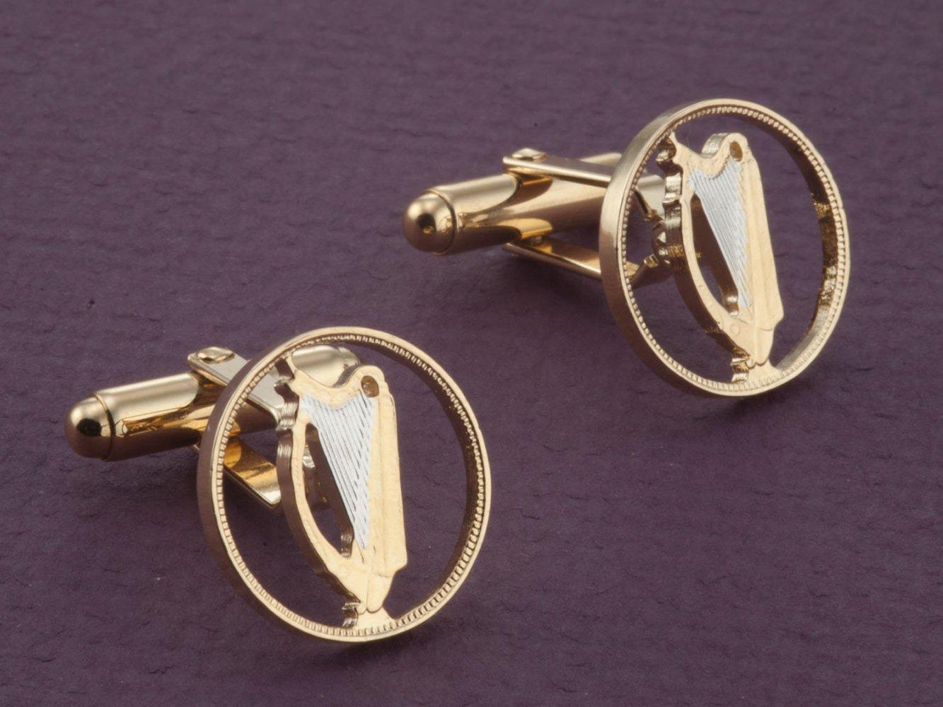 The Difference   Irish Harp Cuff Links, Irish Harp Jewelry, Irish Coin  Jewelry, Irish Gift Ideas, Mens Jewelry, Mens Cuff Links, Irish Jewelry, (  # 164C )