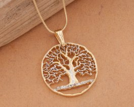 Tree of Life Pendant and Necklace, Hand cut Tree Of Life Medallion, Life Tree Jewelry, Tree Of Life Jewelry, Jewelry For Woman, ( # 874 )