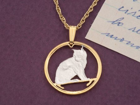 Alley Cat Pendant, Alley Cat Jewelry, Domestic Cat Jewelry, Jewelry For Woman, Cat Lovers Jewelry, Cat Lovers Gifts, Feline Gifts , (# 661)