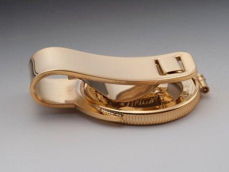 "American Eagle Money Clip, United States Bald Eagle Money Clip, United States Coin Jewelry, 1 1/2"" long, ( # 319M )"