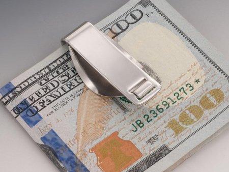 "Lady Liberty Money Clip, United States Half Dollar Money Clip, Walking Liberty Half Dollar Money Clip, , 1 1/4"" in Diameter, ( # 323SUM )"