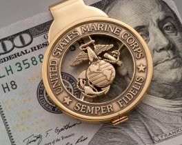 Marine Corp Money Clip, United States Marine Gifts, Mens Money Clip, Mens Gifts, Armed Forces Jewelry, Etsy Jewelry for Men , ( # MBCM )