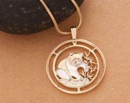 Panda Bear Pendant & Necklace China Panda Bear Series Coin, ( # 68 )