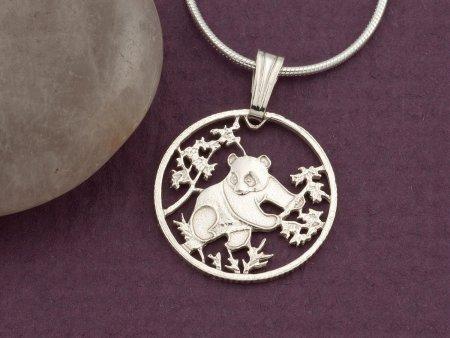 Silver Panda Bear Jewelry, Panda Bear Jewelry, Chinese Panda Bear Gifts, Panda Jewelry, Panda Bear Pendant, Womans Gifts, ( # 364S )