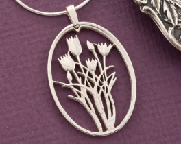 Silver Trees & Flowers