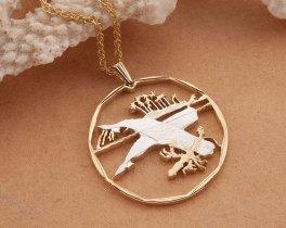 "Sperm Whale Pendant, Sperm Whale Jewelry, Whale Jewelry, Sea Life Jewelry, Sea Life Pendants, 1 1/4"" in diameter, ( # 405D)"