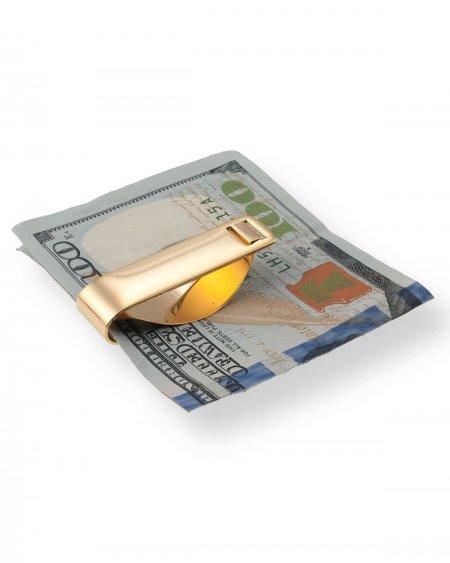 "Statue of Liberty Money Clip, United States Ellis Island Dollar Money Clip, Coin Money Clips, 1 1/2"" in Diameter, ( # EIWM )"
