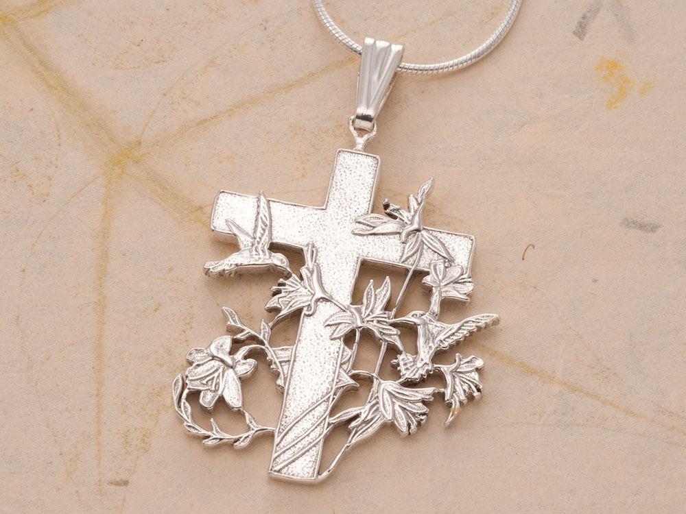 Beautiful Sterling Silver Cross Pendant