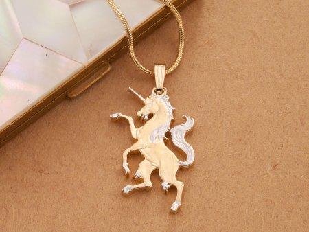 Unicorn Pendant, Unicorn Jewelry, Mythical Jewelry, Mythical Pendant, Unicorn Necklace, Jewelry For Woman, Pendant Necklace, ( # 606C )